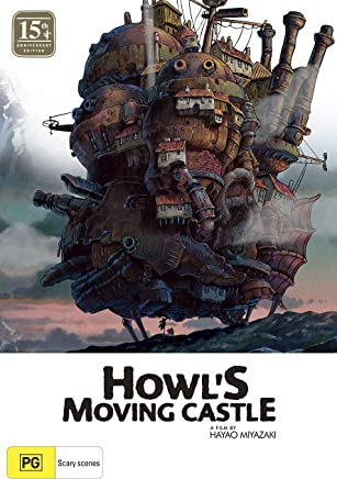 Howl's Moving Castle 15th Anniversary Ltd Edition (blu-ray & Dvd Combo With Artbook) (Blu-ray)