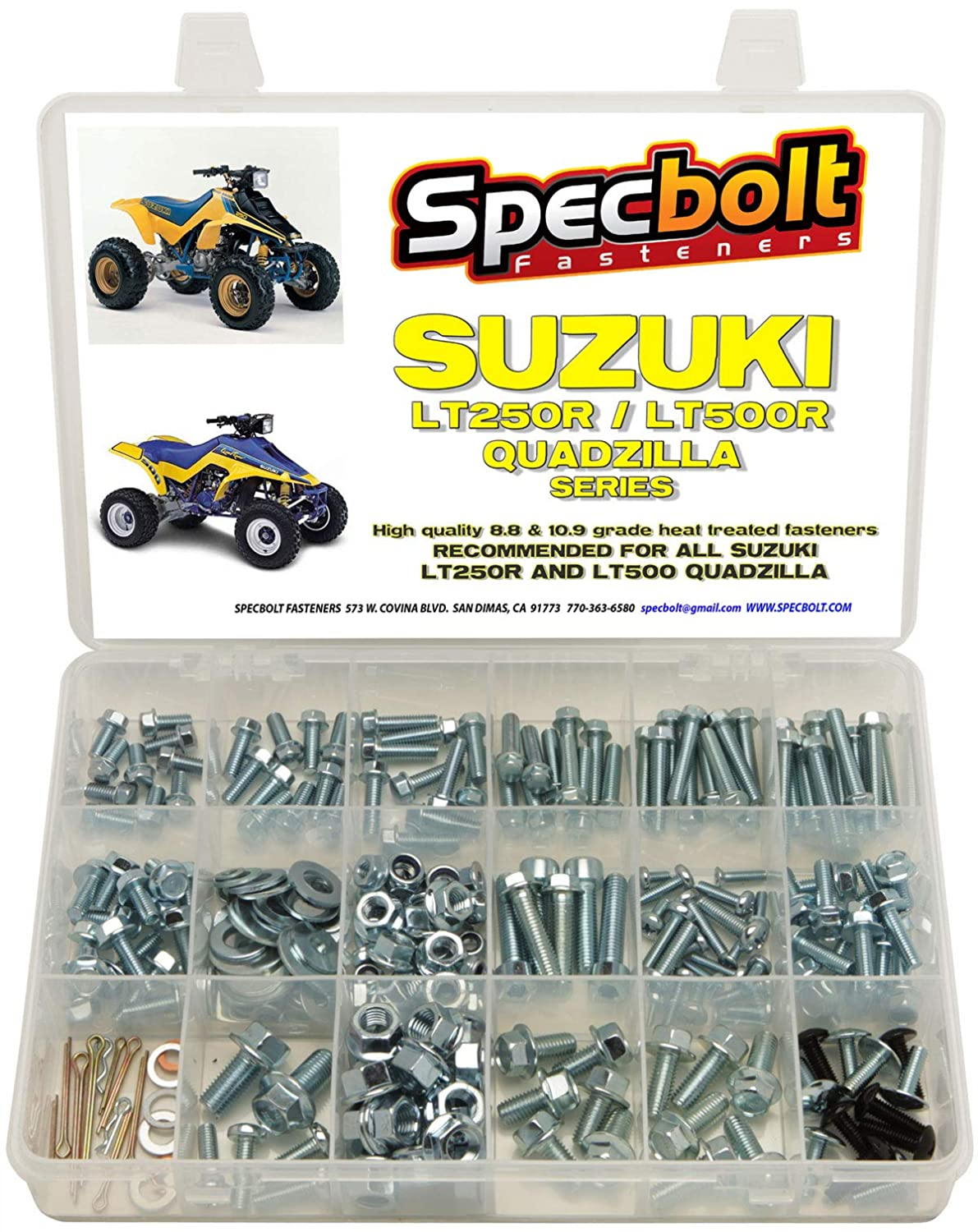 Allen Bolts A2 Stainless Steel Nuts & Washers for SUZUKI GT 250 ...