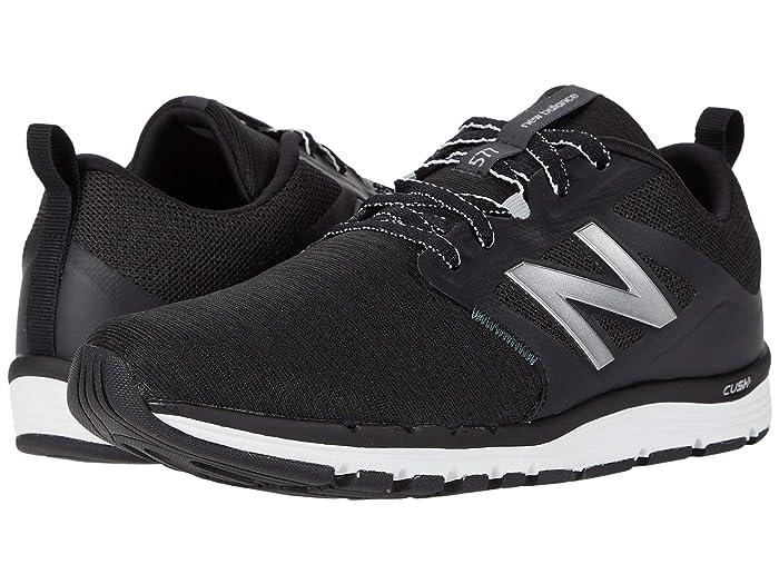 New Balance  577v5 (Black/Orca/Silver Metallic) Womens Shoes