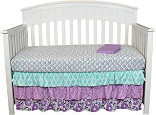 zoe floral crib bedding