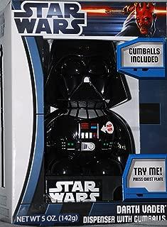 Star Wars Talking Darth Vader Dispenser with Gumballs