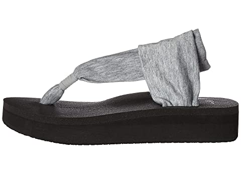 Sanuk Sling Heather Yoga Grey Wedge wwq8B6