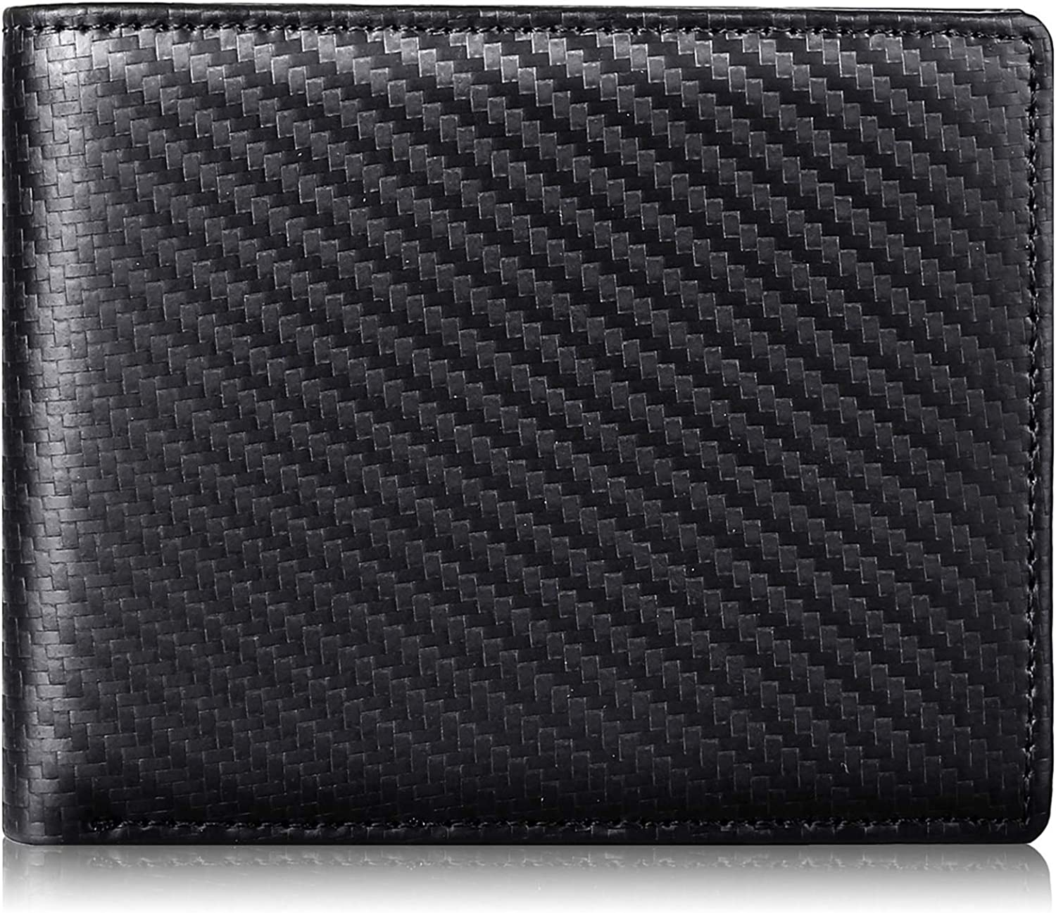 Mens Wallet RFID Genuine Leather Slim Wallets Long Beach Mall security Men Bifold For Rem