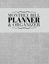 Monthly Bill Planner & Organizer: Simple Dot Design Personal Money Management With Calendar 2018-2019 Step-by-Step Guide to track your Financial ... Journal Planning Workbook) (Volume 66)