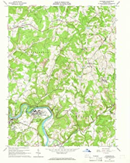 YellowMaps Avonmore PA topo map, 1:24000 Scale, 7.5 X 7.5 Minute, Historical, 1964, Updated 1966, 27 x 22 in