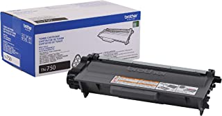 Brother Genuine High Yield Toner Cartridge, TN750, Replacement Black Toner, Page Yield Up To 8,000 Pages, Amazon Dash Repl...