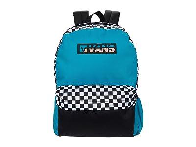 Vans Street Sport Realm Backpack (Enamel Blue) Backpack Bags