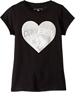 Split Heart Tee (Toddler/Little Kids)