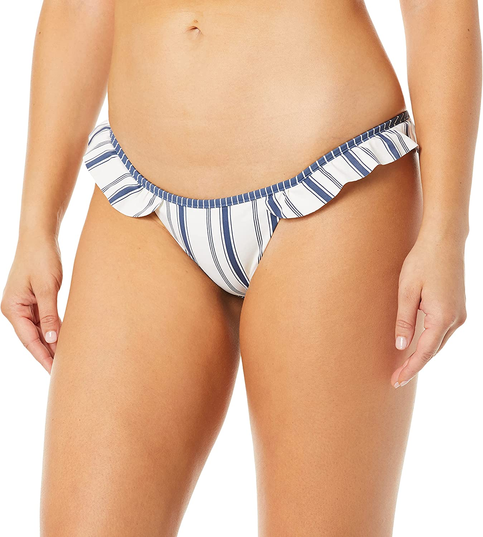 Rip Curl Women's Standard Wave 100% quality warranty! Cheeky Bottom Limited price sale Pant Lines Bikini