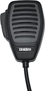Uniden BC645 4-Pin Microphone Replacement for CB Radios, Comfortable Ergonomic Design, Rugged Construction, Clear Quality Sound, Built for The Professional Driver