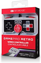 My Arcade GamePad Retro- Classic Wired Controller for the SNES & NES Classic Edition Systems – with Extra Long 10 Foot Cable