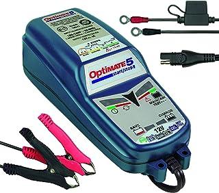 Optimate TM220-4A Tecmate 5 Start-Stop, TM-220, 6-stappen 12V 4A gesloten accu besparende lader & druppellader, optimate 5...