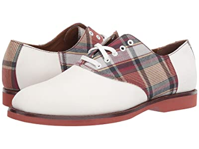 Polo Ralph Lauren Orval (Lily White/Plain Madras Suede/Madras) Men
