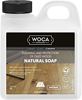 WOCA 511010A Holzbodenseife Natur 1 Liter