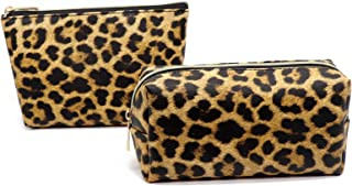 2Pcs Makeup Bag for Women Cosmetic Bag Toiletry Pouch Makeup Organizer Travel Cases Toiletry Bag for Makeup Tools