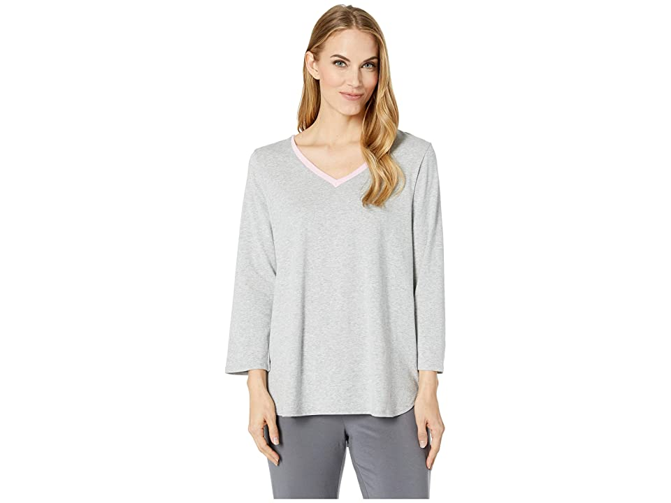 Jockey Long Sleeve Top (Heather Grey) Women