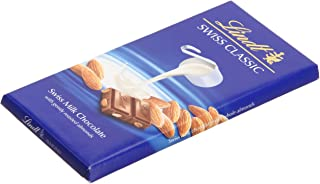 Lindt Swiss Classic Milk With Whole Almond Chocolate, 100 gm