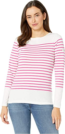 Cream Berry Stripe