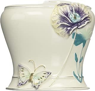Creative Bath Garden Gate Ceramic Tooth Brush Holder, Lilac