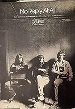 Genesis - No Reply At All - Sheet Music - Vocal / Piano / Chords