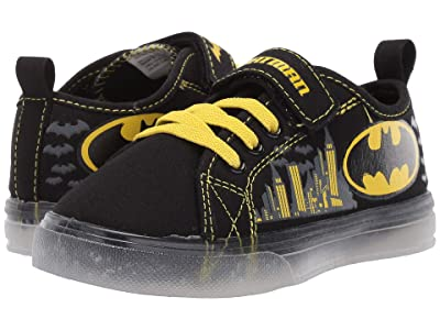 Favorite Characters Batmantm Canvas Lighted BMS725 (Toddler/Little Kid) (Black) Boys Shoes