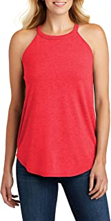 Opna Womens Workout Tank Tops High Neck Loose Fit Yoga Top Sleeveless Shirts Clothes
