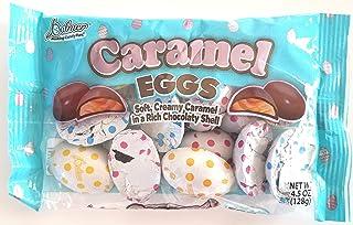 Palmer (1 Bag) Creamy Caramel Chocolate Easter Eggs 4.5 oz 128 g