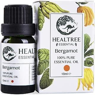 HEALTREE Bergamot Pure Essential Oil 10ml, Natural Air Refreshing in Diffuser, Australian Made