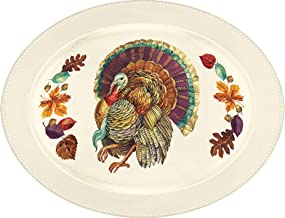 Amscan Traditional Thanksgiving Serving Tray