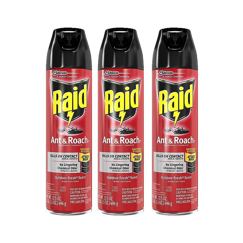 Raid Ant & Roach Killer Outdoor Fresh, 17.5 OZ (Pack - 3)