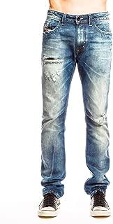 Diesel Men's Thavar Straight Slim Leg Jean 0833z