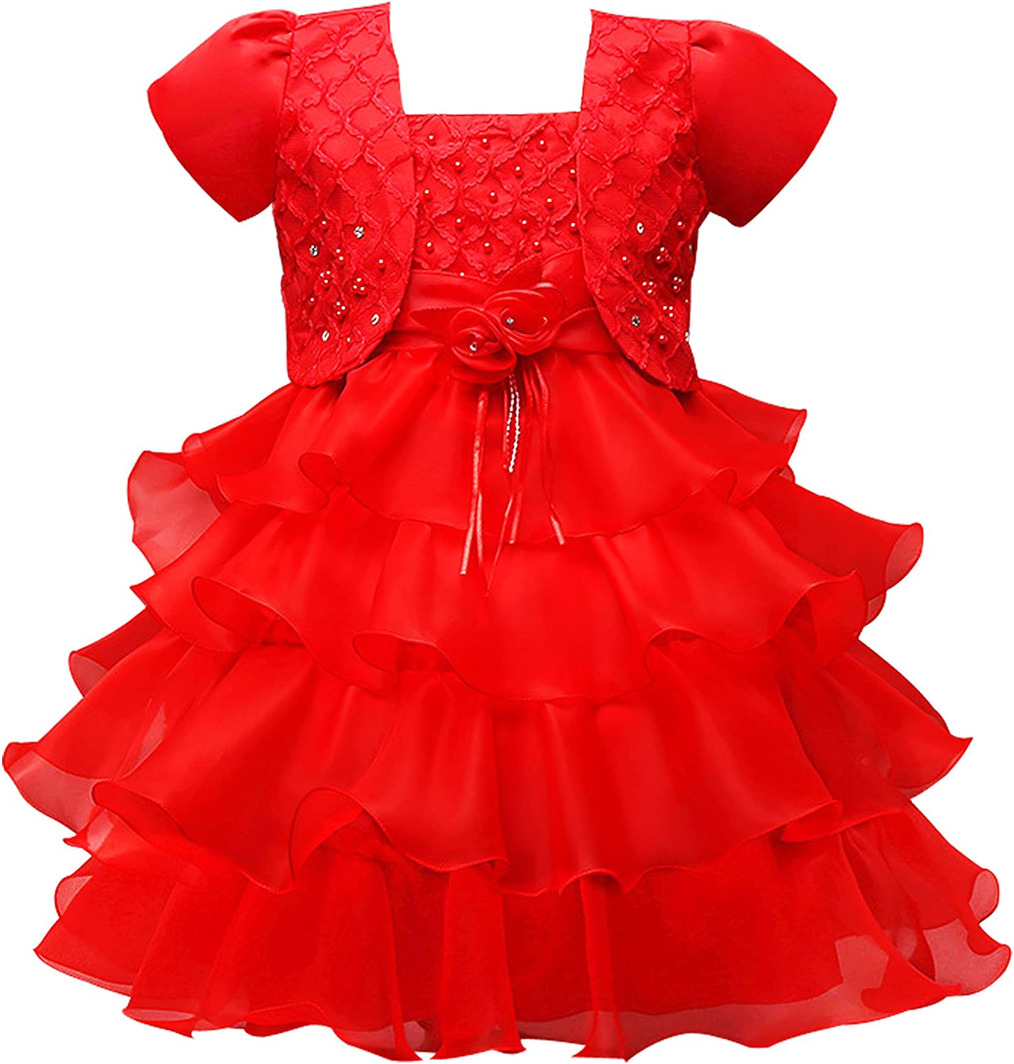 CHENLVXIE Direct service store Short Sleeve Tutu Ball Gown Flower Zipper Jacket with