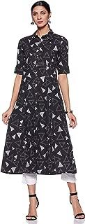 Varanga Women's Cotton a-line Salwar Suit Set