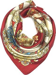 Silk Like Scarf Women's Fashion Pattern Large Square...