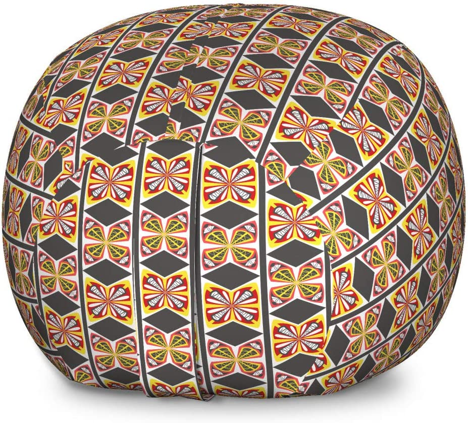 Ambesonne Ethnic Fees free Storage Toy Bag Chair Tribal Ge Boston Mall Style Bohemian