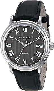 Raymond Weil - 2837-STC-00609 - Reloj de pulsera hombre, piel, color marrón