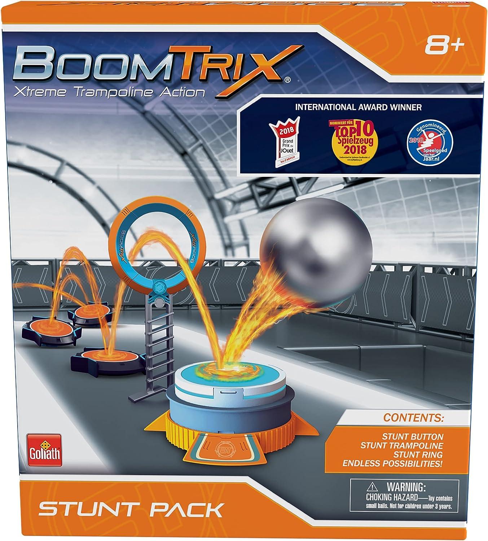 BoomTrix Stunt Pack, GL60101, Xtreme trampolín acción para niños Mayores de 8 años, Multi