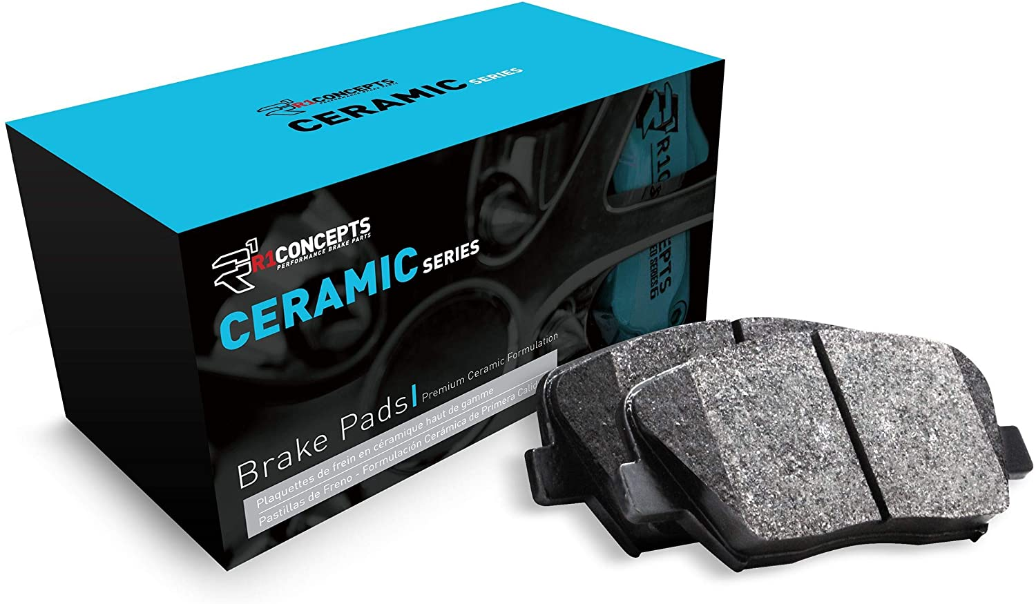 Front R1 人気ブランド Concepts Ceramic Series 正規店 Brake Rub With Rubber Pad Steel