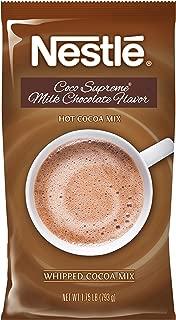 Nestle Hot Chocolate Mix, Hot Cocoa, Milk Chocolate Coco Supreme Flavor, Whipped Cocoa, 1.75 lb. Bag
