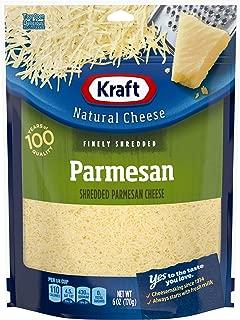 Kraft Natural Finely Shredded Parmesan Cheese (6 oz Bag)