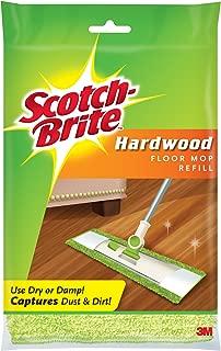 Scotch-Brite Microfiber Hardwood Floor Mop Refill, 1-Count