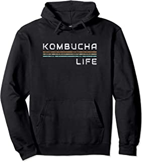 Kombucha Life Apparel Kombucha Tea Drinker Buch Booch Pullover Hoodie