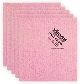 Vileda Professional | PVA Microfiber Cloth | All Purpose Cleaning Shammy | Shiny Streak Free Results | Synthetic Chamois T...