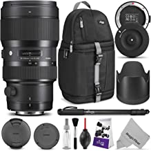 Sigma 50-100mm F1.8 Art DC HSM Lens for Canon DSLR Cameras + Sigma USB Dock with Altura Photo Essential Accessory and Travel Bundle