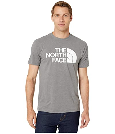 The North Face Short Sleeve Half Dome T-Shirt (TNF Medium Grey Heather/TNF White) Men
