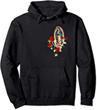 Our Lady of Guadalupe Virgen Maria Tilma Red Roses 120a