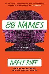 88 Names: A Novel Kindle Edition