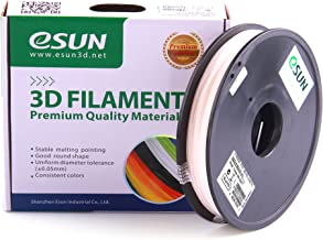 eSUN Color Changing by UV Filament 1.75mm Red 0.5kg(1.1lb) Spool for Makerbot, Reprap, UP, Afinia, Flash Forge and All FDM 3D Printers, Red