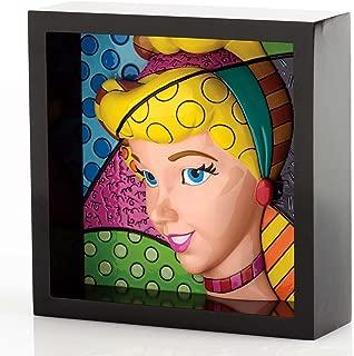 Romero Britto Disney Cinderella Pop Princess Art Block Display 4033869 New