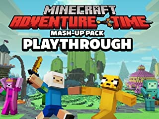 Clip: Minecraft Adventure Time Mash-Up Pack Playthrough